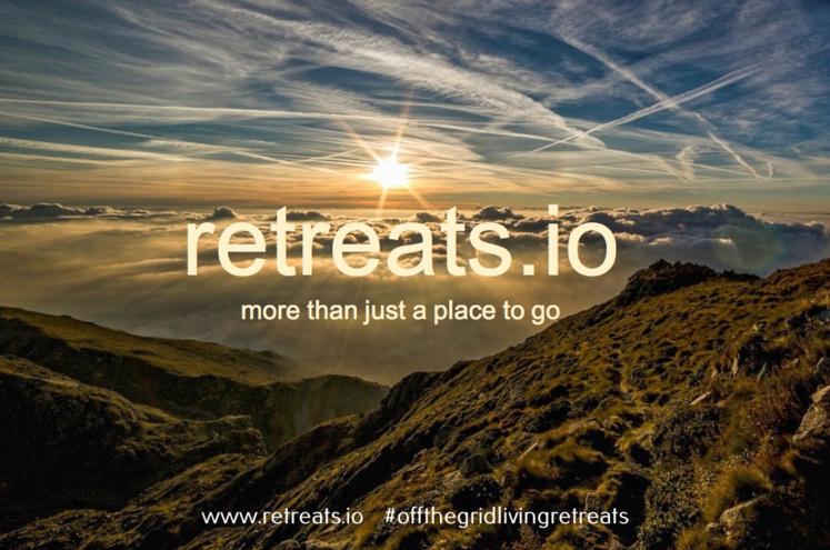 Retreats dawn rising